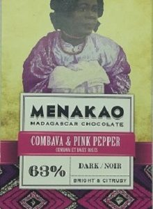 chocolat noir combava baies roses (grande)