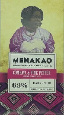 chocolat noir combava baies roses (mini)