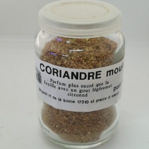 Coriandre graine moulu