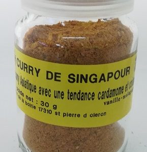 Curry de Singapour