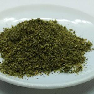 Curry vert spiruline