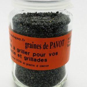 Pavot bleue graine