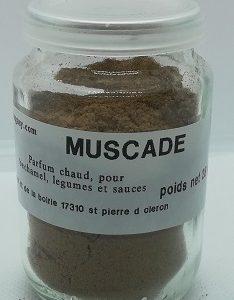 Muscade moulu
