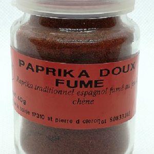 Paprika doux fumé