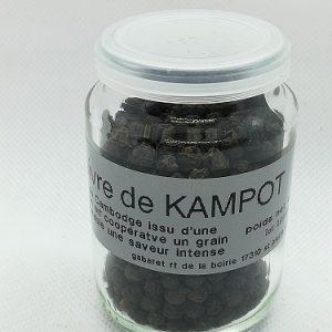 Poivre noir de Kampot en grain