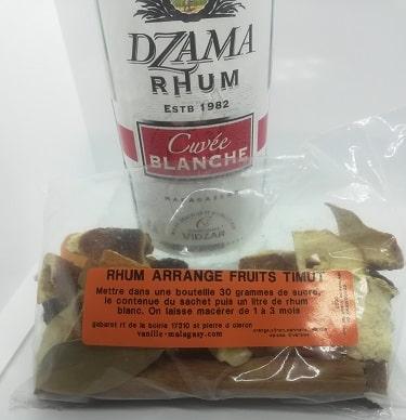 Rhum Fruits Timut (Préparation pour)