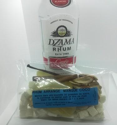Rhum Mangue Coco (Préparation pour)