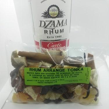 Rhum fève de Tonka (Préparation pour)