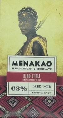Chocolat noir piments oiseaux (mini)