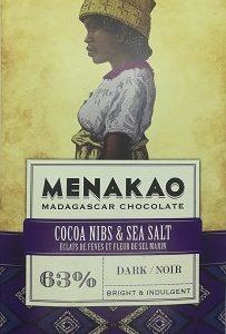 chocolat noir éclats de cacao, fleur de sel (grande)