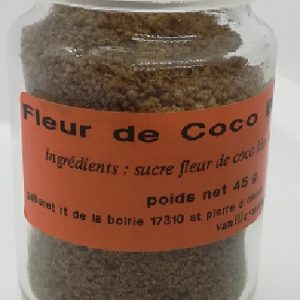 fleur de coco vanille sucre